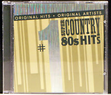 #1 Super Country 80's Hits by Various Artists (CD, Oct-2006, Madacy Dist)