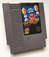 Nintendo NES Clu Clu Land Video Game Cartridge