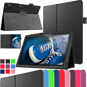 """For Lenovo Tab 2 A10-30 10.1"""" inch Case Magnetic Book Stand Smart Leather Cover"""