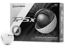 Taylormade TP5x White Golf Balls -  2019 Model 2 Dozen