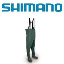 NEW Shimano STIVALI WADER PVC n43 IMPERMEABILI CON STIVALE GOMMATO