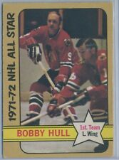 1972-73 O-Pee-Chee #228 Bobby Hull Chicago Black Hawk All Star  EX-MT