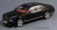 Bentley Mulsanne Speed Black 1:43 Scale Diecast Kyosho 05611NX