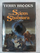 Terry Brooks THE SCIONS OF SHANNARA 1990 1st Edition Del Rey Books SIGNED