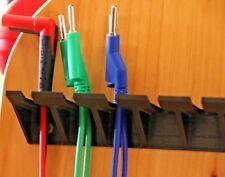 Cable de prueba de clavija de punta cónica Enchufe Pinza Cocodrilo Sonda de Prueba de plomo titular 20 cm Para Cable