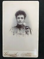 Victorian Photo: Cabinet Card: Lady: Gorsuch: Upper Holloway