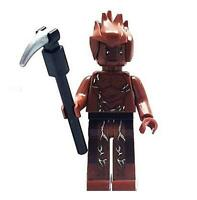 Groot Minifigure Marvel Super Heroes Figure For Custom Lego Minifig   15