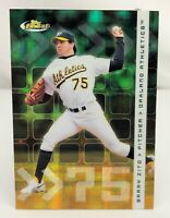 2002 Finest - X-Fractor #38 - Barry Zito SN299 - Oakland Athletics