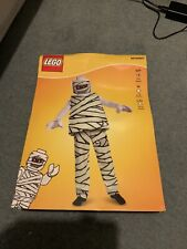 LEGO MUMMY FANCY DRESS COSTUME OUTFIT DRESS-UP AGE 4-6 CHILDRENS
