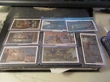 8 X 1920's  Will's Cigarettes Mining Cards 3,4,5,6,7,8,9,10