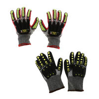 Anti-Impact Work Safety Gloves Vibration Cut Resistant Gloves Mitts