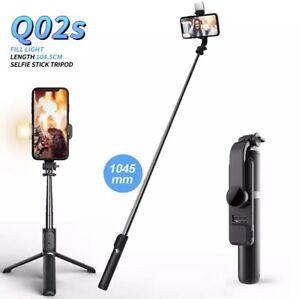 Wireless Bluetooth Selfie Stick Tripod With Fill Light Shutter UNIVERSAL
