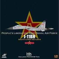 JCW72HHC007 1/72 EXCLUSIVE EDN - SU27 FLANKER J11BH PL8 & PL12 MISSILES W/STAND
