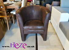 Stylish and Elegant Fabric Tub Chair York Lovely Vintage Style