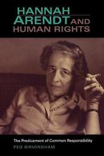Hannah Arendt & Human Rights: The Predicament of Common Responsibility (Paperbac