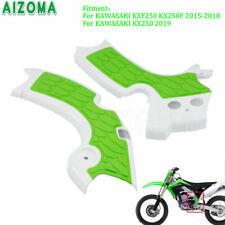 Dirt Bike X-Grip Frame Guards Protector For Kawasaki KXF250 KX250F 2015-2018