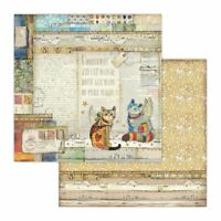 """Stamperia Double-Sided Cardstock 12/""""X12/"""" Cosmos Astra"""