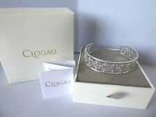 Clogau Gold, Silver & Rose Gold Bohemia Bangle RRP £350