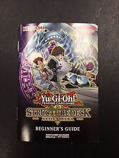 Beginner's Guide Book ONLY NM - SDKS Seto Kaiba Structure Deck-Yu-Gi-Oh! Yugioh