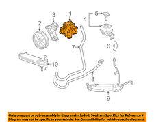 Cadillac GM OEM 04-07 CTS-Power Steering Pump 21997867