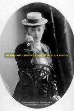 "mm525 - Russia - Granduchess Anastasia  Mihailovna Romanov - Royalty photo 6x4"""