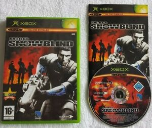 XBOX ORIGINAL PROJECT SNOWBLIND WITH MANUAL GOOD