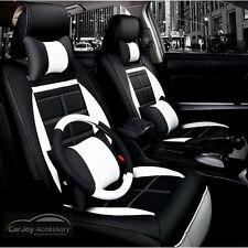 Black White Car Seat Cover Honda Accord Euro Jazz Civic City CRV HRV CRX