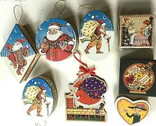 Lot of 8 Mary Engelbreit Items 7 Paper Boxes, 1 Xmas Ornament