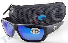 Costa TA11OBMGLP Tuna Alley Sunglasses 580G Blue Mirror Lens Matte Black Frame!