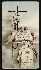 """santino-holy card """"ediz.NB serie LIPPI n.37  VOTI DELLA VITA CONSACRATA"""