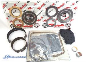 Ford AODE 4R70W Transmission Basic Master Rebuild Kit 1996-2002 Steels Bands