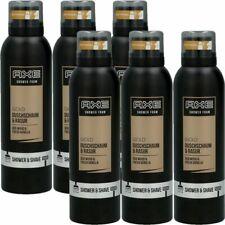 Axe Gold Oud Wood & Fresh Vanilla 6x200 ml Duschschaum & Rasur Shower Shave Foam