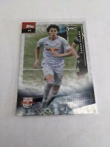 2021 Topps MLS Caden Clark Icy White Foil Parallel RC Rookie NY Red Bull #179
