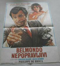 klein,Filmplakat,Plakat,BELMONDO NEPOPRAVLJIVI,JEAN PAUL BELMONDO-5