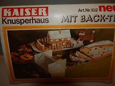 Vintage Kaiser Backform Party Cake House 102 made in W. Germany New 1979
