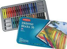 Derwent Inktense Blocks Tin Set36