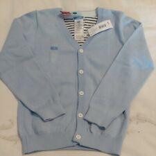 Jacadi Nwt soft blue size 8 fits like a 6/7 cardigan