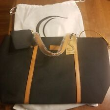 Somersby Beauty Black Nylon Tote and Wallet With Built in Laptop Carrier