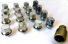 16 x M12 x 1.5 19mm Hex OE Style wheel nuts inc locking lock nuts. Ford