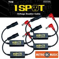 4-Pack Truetone TVD Pedal-Voltage-Doubler Cable 1-Spot 18V 24V No Switch Noise