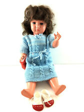 Schildkrötpuppe  / Puppe 45 Kippaugen Stimme