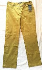 ETCETERA Carlise NWT Size 0 OR 2 Gardener Chartreuse Green  Pants Stretch Cotton