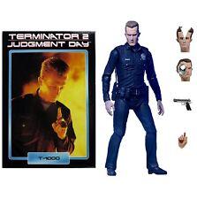 """NECA Terminator 2 Ultimate T-1000 7"""" Escala Figura De Acción-Oficial"""