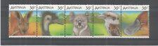 Australia 1986 AUSTALIAN Fauna Selvatica 1ST serie SG, 1023-1027 U/mm NH LOTTO 5312 A
