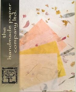 20 Sheets Mulberry Paper in 2 Sizes /Scrap Book/Decoupage/Art/Craft *Flower 1
