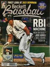 New December 2020 Beckett Baseball Card Price Guide Magazine With Jose Abreu