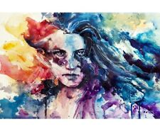 """Picture / Poster """"Like Wildfire"""" by Agnes-Cecile - 30 x 45"""" - read description!"""