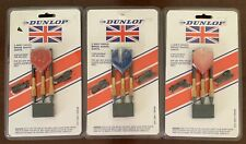 New listing New Dunlop Pack Soft-Tipped Brass Barrel Darts With 6 Replacement Tips - 3 Packs