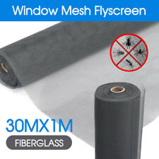 Roll Insect Flywire Window Fly Screen Net Mesh Flyscreen 100FT / 30M