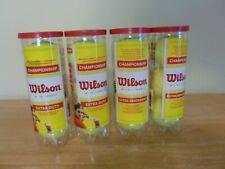 Wilson Championship Extra Duty Tennis Ball (Yellow - 4 pack)